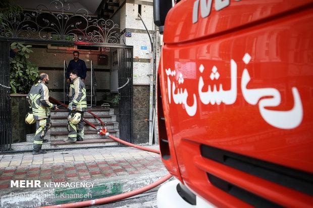 حضور آتش نشانان همدانی در 7 عملیات امداد و نجات طی یک روز
