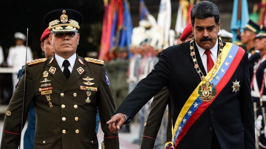 موضع گیری مقامات ارشد نظامی ونزوئلا درباره مادورو