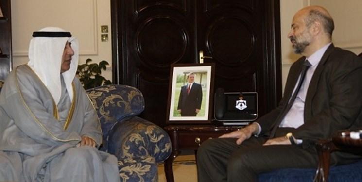 دیدار نخست وزیر اردن با همتای کویتی