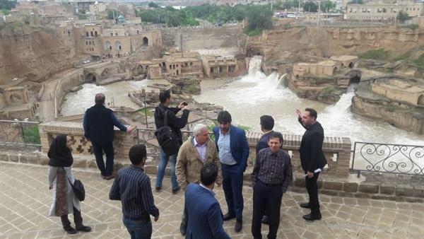 حضور کارشناس یونسکو در ایران برای آنالیز وضعیت میراث جهانی شوشتر پس از سیلاب