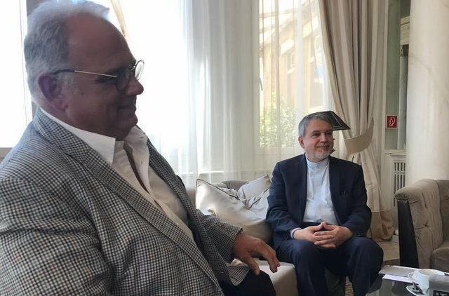 لالوویچ در دومین دیدار با صالحی امیری: حمایتهای ما از کشتی ایران ادامه خواهد داشت