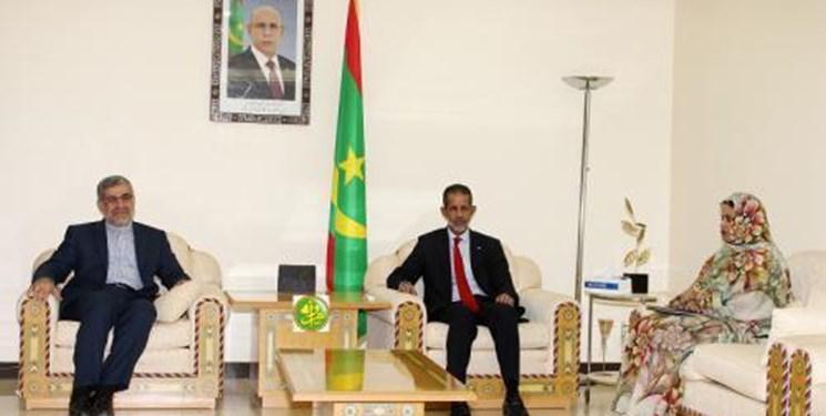 دیدار سفیر ایران با نخست وزیر موریتانی