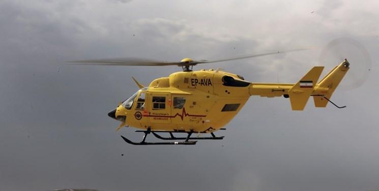 112 زائر به کشور توسط بالگردهاى اورژانس منتقل شدند