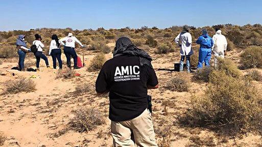 کشف گور دسته جمعی در مکزیک ، 42 جسد در یک گور
