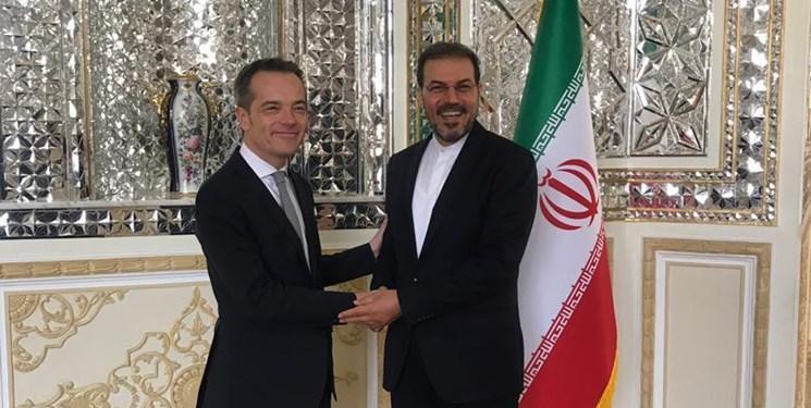 دیپلمات های بلژیکی و سوئدی در تهران