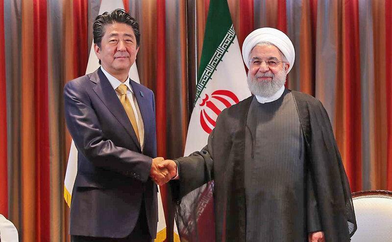 کوشش آبه شینزو برای گسترش صلح و تامین نفت ، روحانی شب یلدا به ژاپن می رود