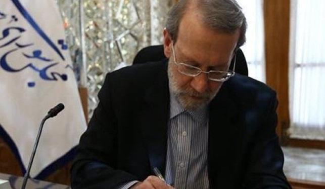 لاریجانی کسب مقام قهرمانی تیم ملی کشتی بانوان ایران را تبریک گفت