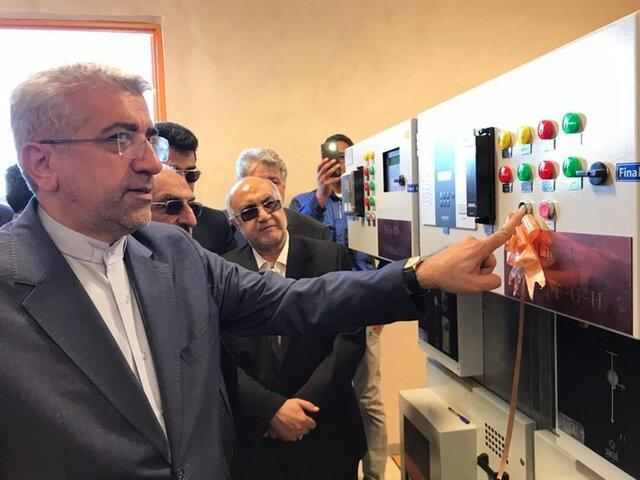 افتتاح نیروگاه 10 مگاواتی خورشیدی نور ماهان
