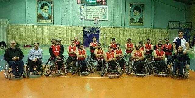 قدرت نمایی ایثار شیمیدُر قم در لیگ بسکتبال
