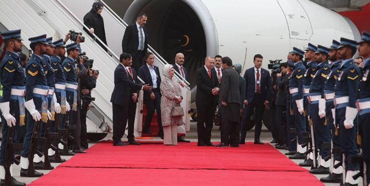 اردوغان وارد اسلام آباد شد، ترکیه به دنبال افزایش مناسبات تجاری با پاکستان