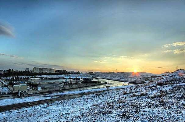 پیش بینی برف برای چند استان هوا سردتر می گردد