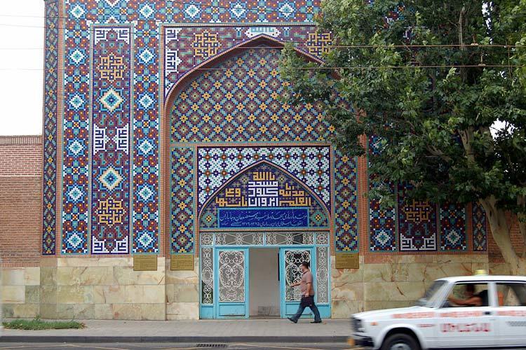 تدوین پرونده ثبت جهانی مسجد کبود ارمنستان توسط ایران