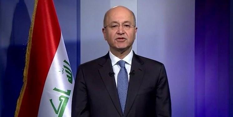 رئیس جمهور عراق: طی 15 روز نامزد جدید نخست وزیری را معرفی می کنم