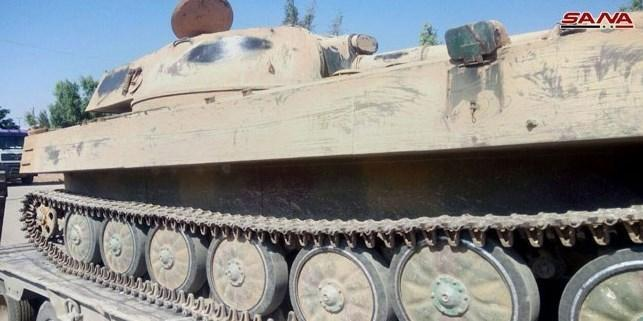 سوریه، آزادسازی شهر الصنمین در حومه درعا