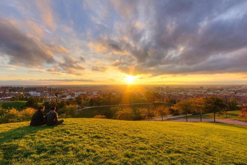 پارک ها و باغ های بی نظیر مادرید آرامش خیال در شلوغی شهر