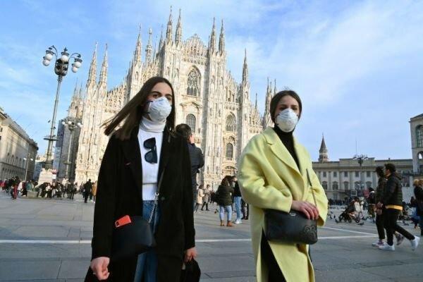 افزایش شمار قربانیان کرونا در ایتالیا به 1809 نفر