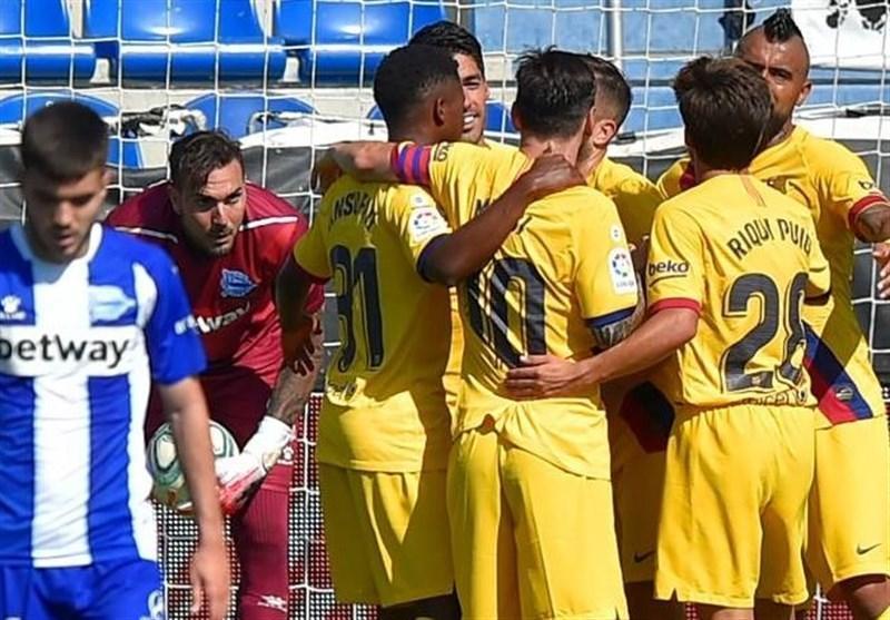 لالیگا، بارسلونا با تحقیر آلاوس فصل را به سرانجام رساند
