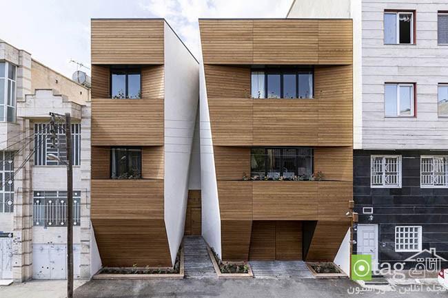 آشنایی با طراحی داخلی و خارجی آپارتمان افشاریان در کرمانشاه