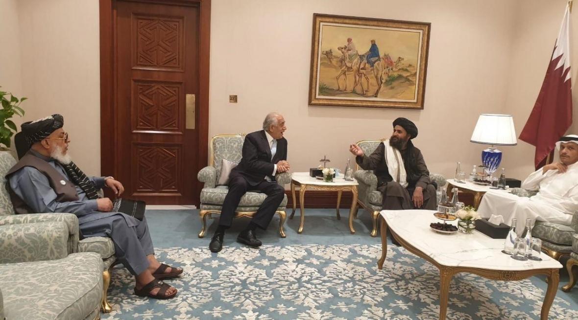 توافقنامه قطر محور ملاقات نماینده ویژه آمریکا با معاون سیاسی طالبان