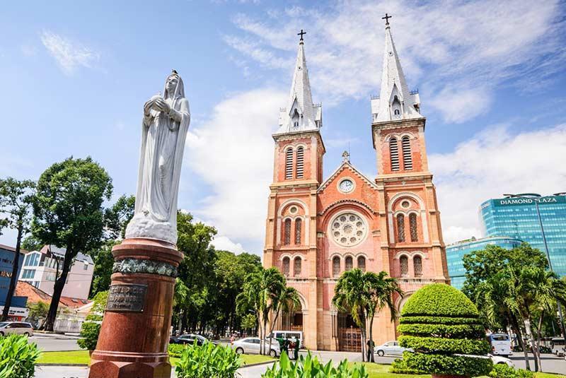 جاذبه های گردشگری هوشی مین، بزرگترین شهر ویتنام