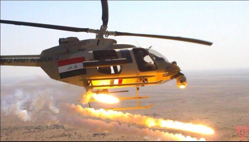 حمله ارتش عراق به مواضع تروریست&zwnjها در استان صلاح الدین