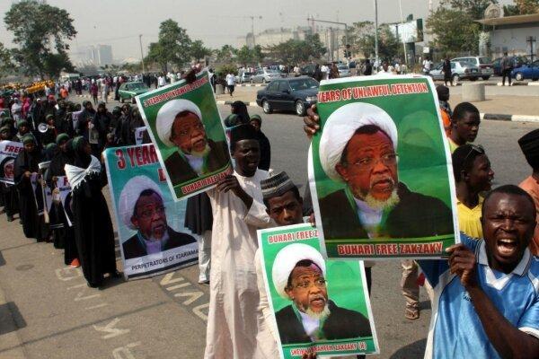 مردم نیجریه خواهان آزادی فوری و بدون قید و شرط شیخ زکزاکی شدند