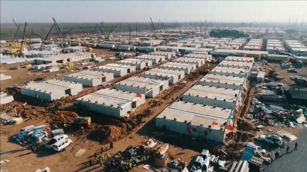 ساخت 5 بیمارستان جدید در چین برای مقابله با کرونا