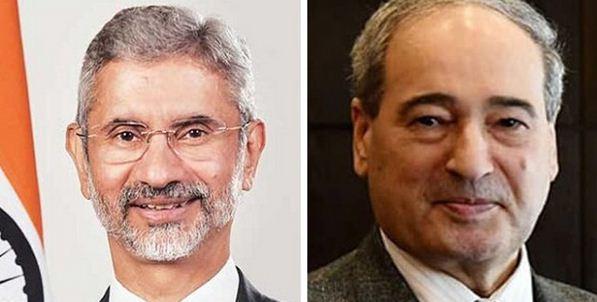 تأکید وزرای خارجه هند و سوریه بر گسترش روابط دو جانبه خبرنگاران