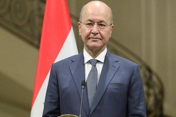 برهم صالح: مقامات تهران و ریاض بیش از یکبار در بغداد دیدار کردند