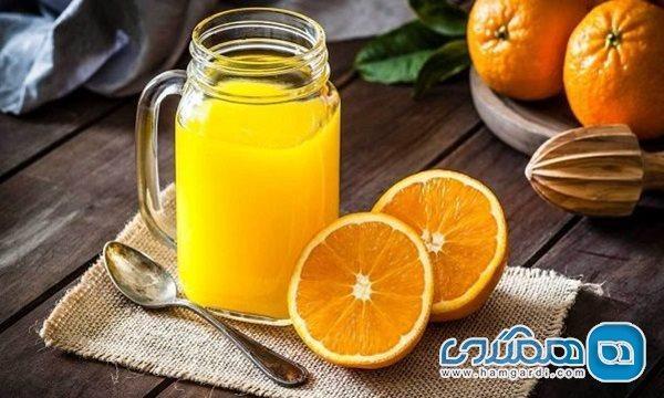 خواص خارق العاده آب پرتقال