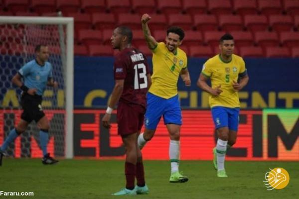 (ویدیو) خلاصه بازی برزیل 3 - 0 ونزوئلا
