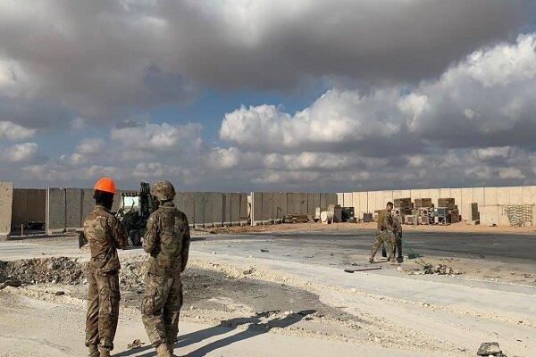 حضور افسران عالی رتبه عراقی در پایگاه عین الاسد