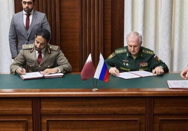 نظامیان قطری برای آموزش به روسیه می فرایند